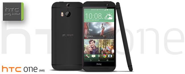 HTC One M8 Stealth Black Teaser