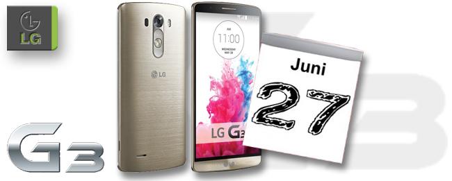 LG G3 Verkaufsstart