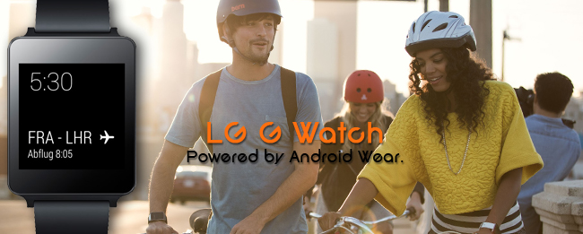 LG G-Watch by Google Android Wear
