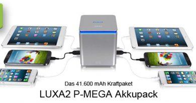 LUXA2 P-MEGA Akkupack