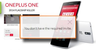 OnePlus One ohne Invite