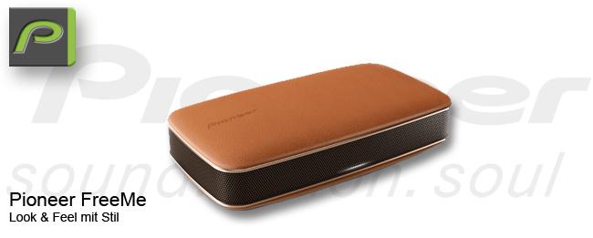 Pioneer FreeMe Bluetooth Lautsprecher