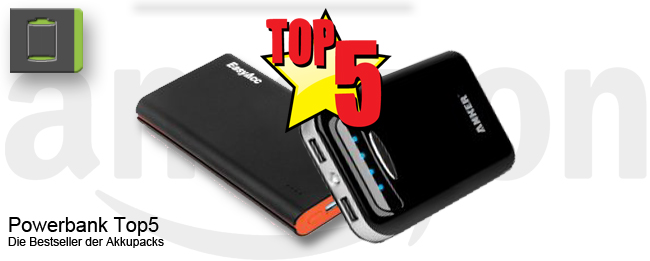 Amazon Powerbank Top5