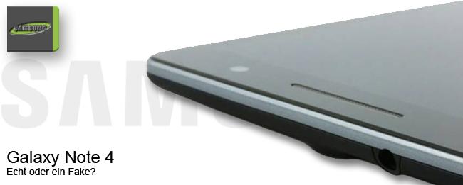 Samsung Galaxy Note 4 Fake