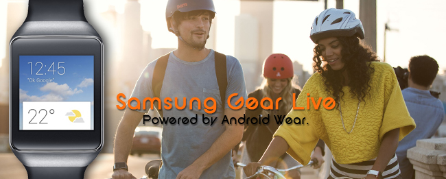 Samsung Gear Live by Google Android Wear