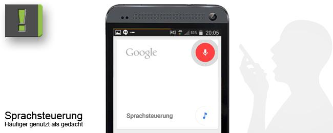 Android Sprachsteuerung