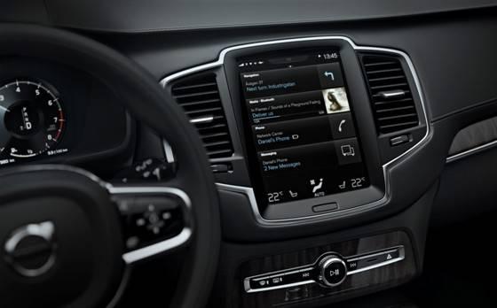Volvo XC90 Infotainment-System