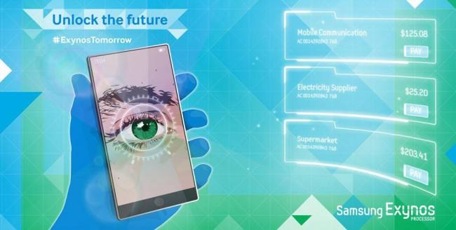 Retina-Scanner für Samsung