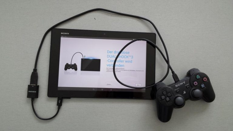 PS3 Controller am Sony Xperia einrichten