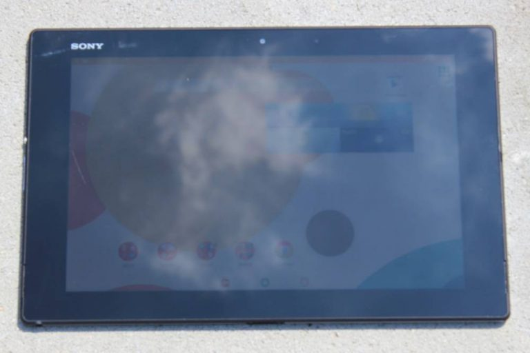 Sony Xperia Z2 Tablet Test