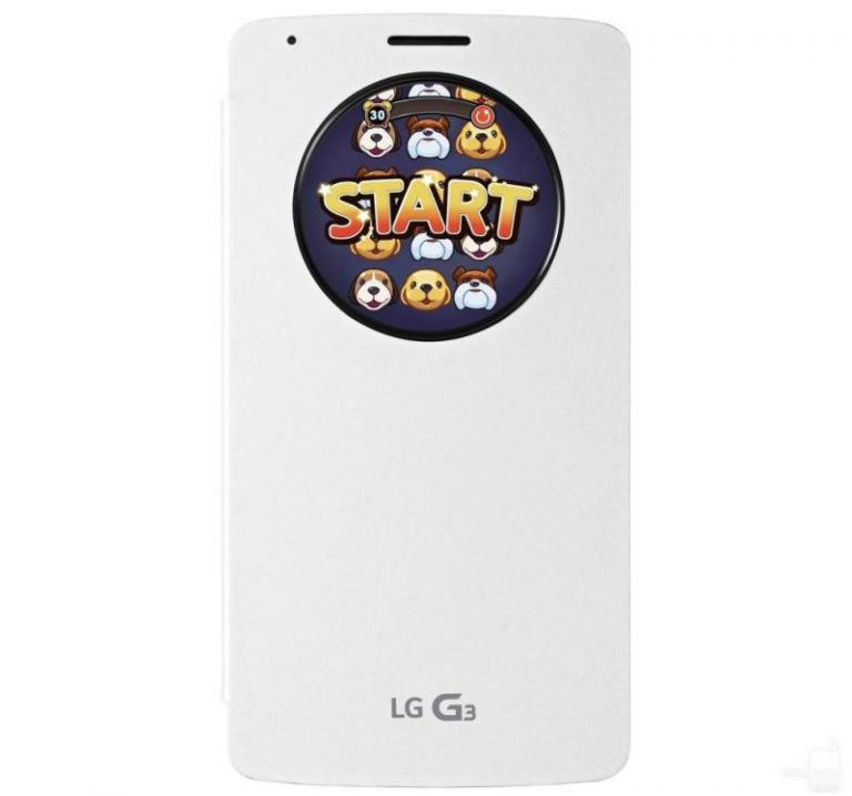 Puppy Pop für LG G3 QuickCircle Case