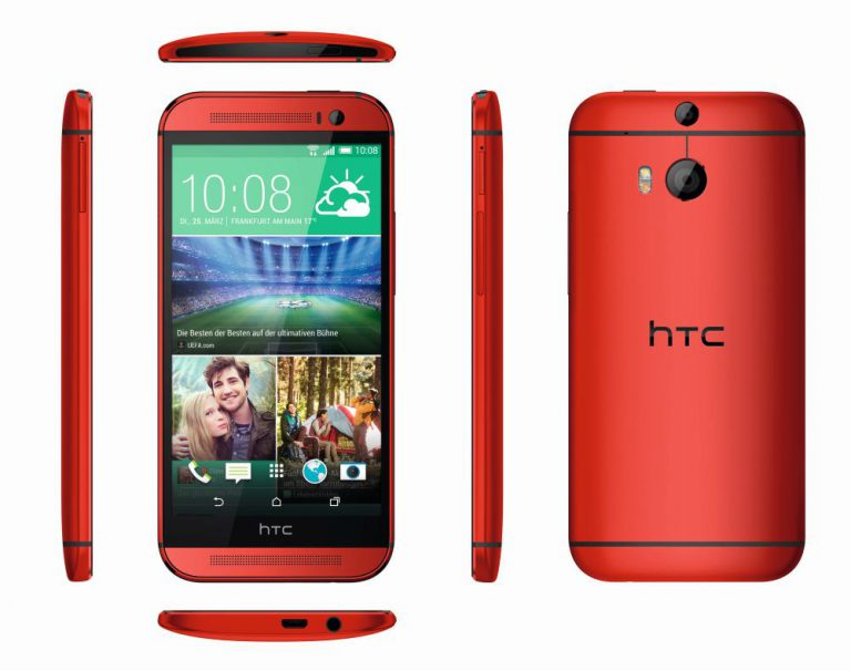 HTC One M8 Glamour Red