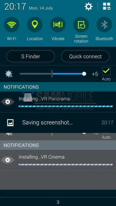 Samsung Gear VR Apps Leak