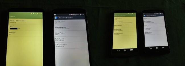 LG G3 nach Update