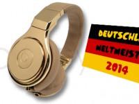 Zum WM-Sieg: Beats schenkt Löw und Co. Kopfhörer aus 24 Karat Gold