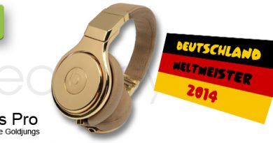 Beats by Dr. Dre in Gold