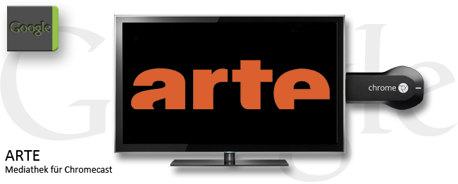 ARTE mit Chromecast-Support