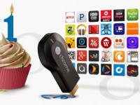 Happy Birthday Chromecast zum ersten Geburtstag