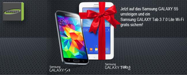 Samsung Galaxy S5 Wechselbonus