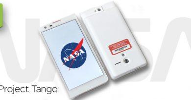 Google Projekt Tango für die NASA