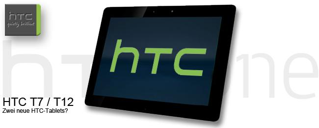 HTC T7 und HTC T12