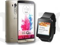 LG G Watch beim Kauf des LG G3 kostenlos dazu