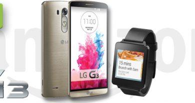 LG G3 mit gratis LG G Watch