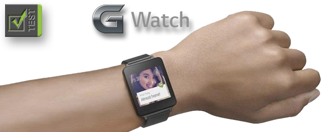 LG G Watch Test