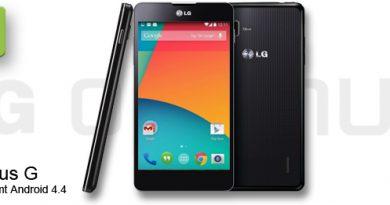 LG Optimus G mit Android 4.4 KitKat