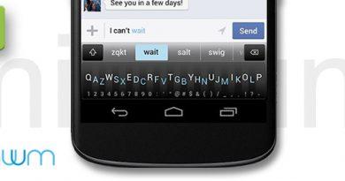 Minuum Keyboard