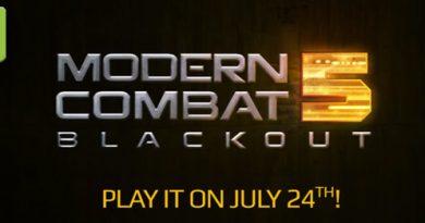 Modern Combat 5 Blackout Teaser