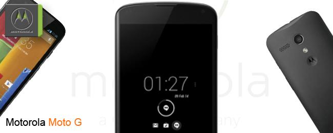 Motorola Moto G Aktiv-Anzeige