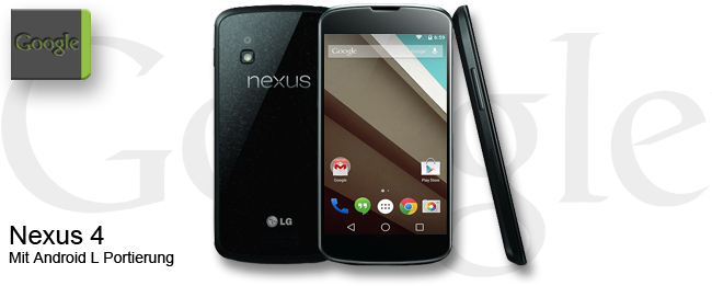 Nexus 4 mit Android L