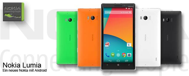Nokia Lumia mit Android