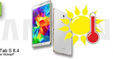 Samsung Galaxy Tab S 8.4 mit Überhitzung