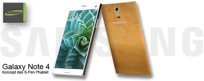 Samsung Galaxy Note 4 Konzept