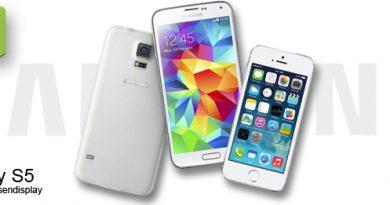 Samsung Galaxy S5 Werbespot gegen das iPhone 5s