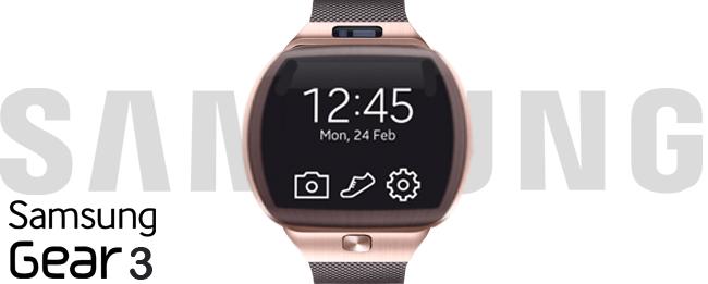 Samsung Gear 3 mit Tizen