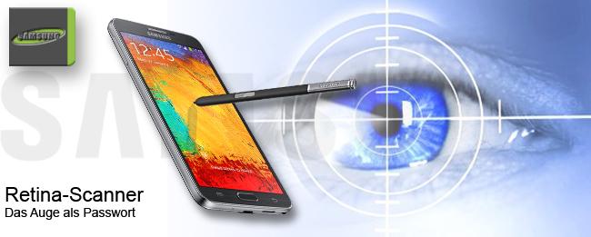 Retina-Scanner für Samsung Galaxy Note 4