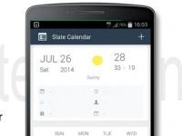 Slate Calendar: Ein Kalender im Google Now Design
