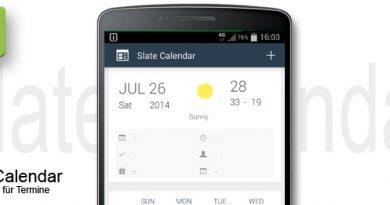 Slate Calendar