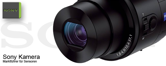 Sony Kamera-Sensoren