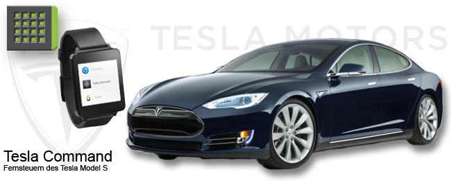 Tesla Command für Tesla Model S