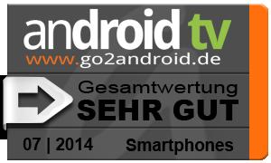 Testurteil LG G3 android tv