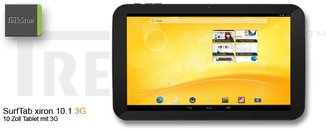TrekStor SurfTab xiron 3G