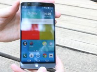LG G3 First Touch & View Video