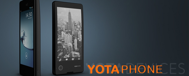 YotaPhone by Yota Devices