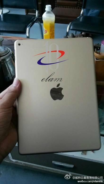 Apple iPad Air 2 Rückseite Leak
