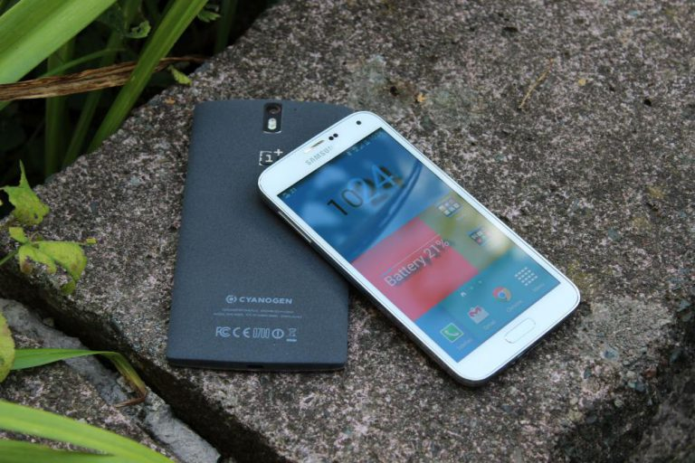 Samsung Galaxy S5 vs OnePlus One