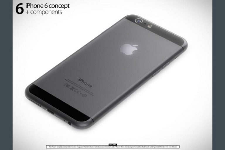 iPhone 6 3D-Rendering